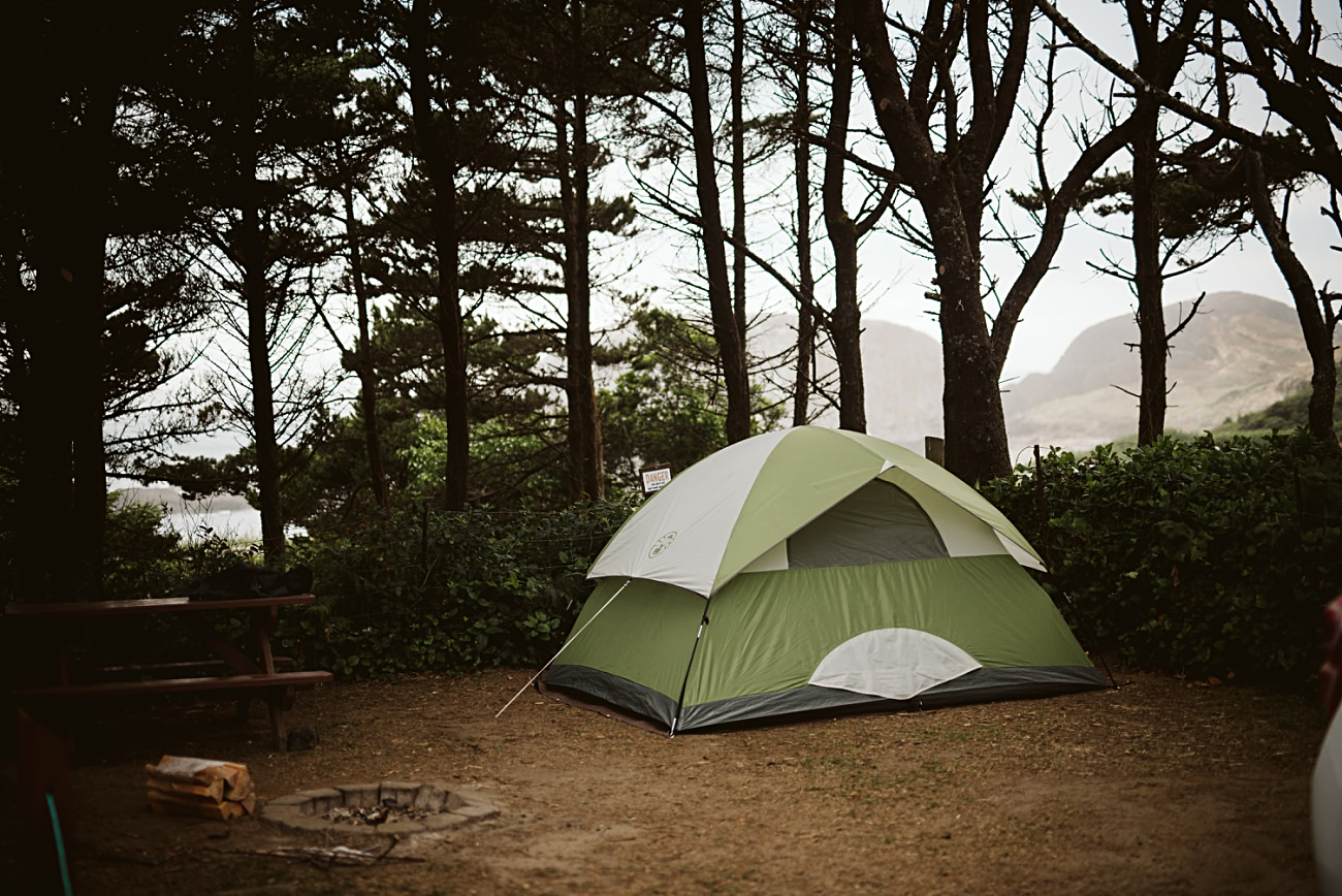 Beach Camping in Oregon, Yurt camping near Cannon Beach, Traveling around route 101 - oregon coast travel guide - travel oregon