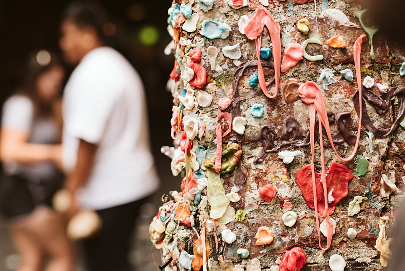 Seattle Travel Guide - the Gum Wall