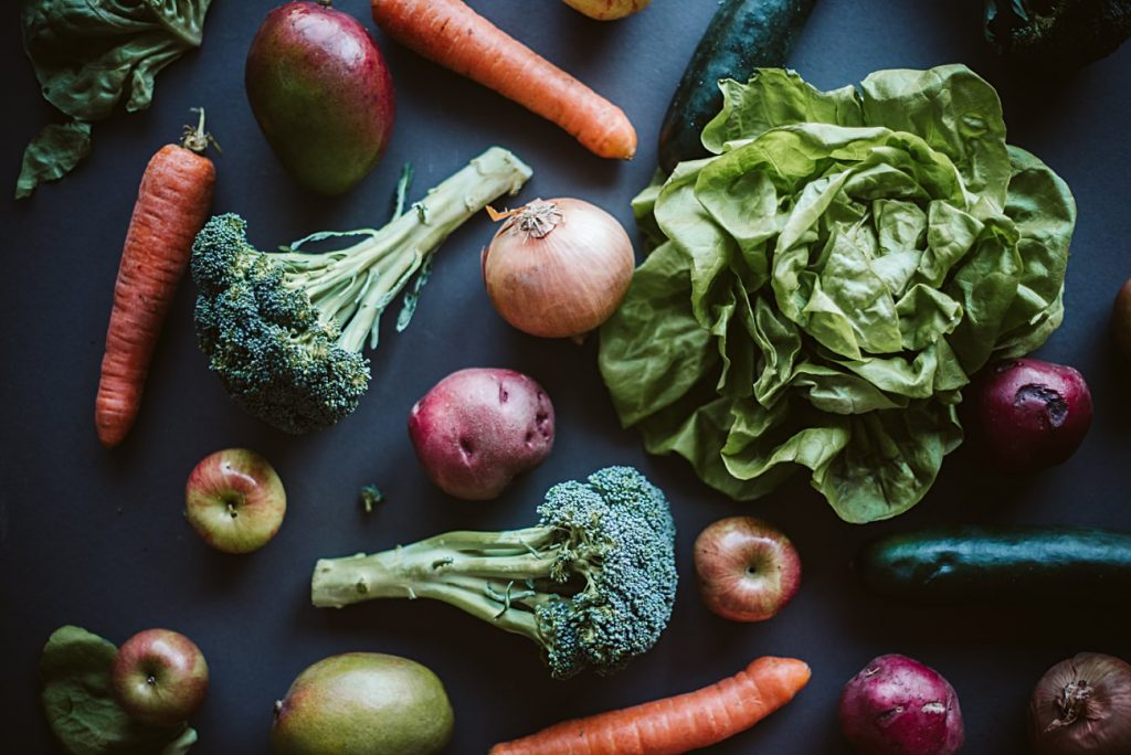 Imperfect product subscription - food photography - healthy eating