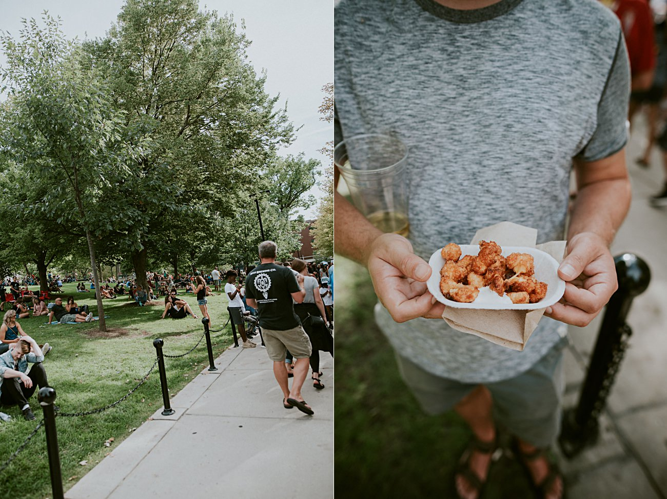 Taste of Madison 2019 - things to do in Madison Wisconsin, curd girl in madison wisconsin, best cheese curds in madison wi