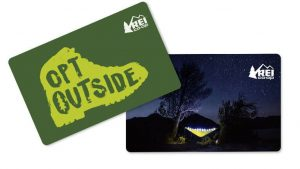 rei gift card - Holiday gift guide for outdoor lovers, christmas gifts for outdoor lovers