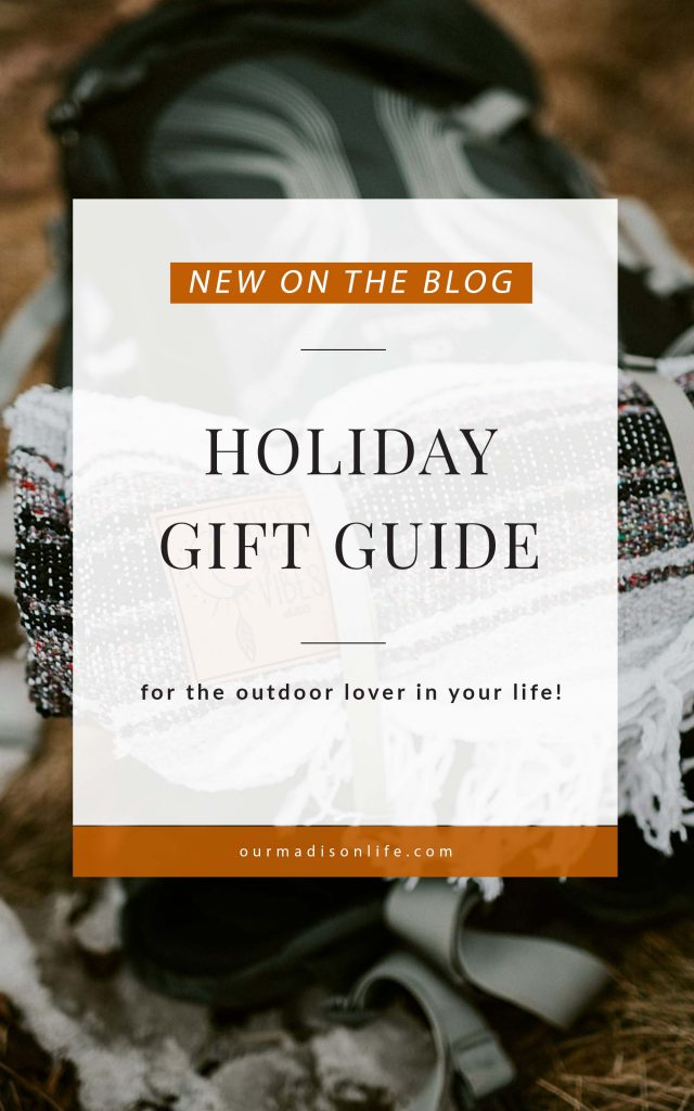 Holiday gift guide for outdoor lovers, christmas gifts for outdoor lovers