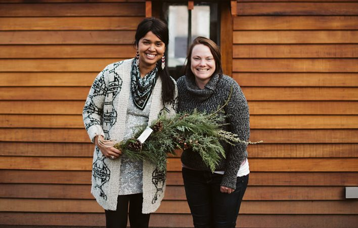 DIY SWAG, Holiday DIY's, Madison Wedding Flowers, Holiday Events, Natural Intuition Photography Madison Events. Our Madison Life