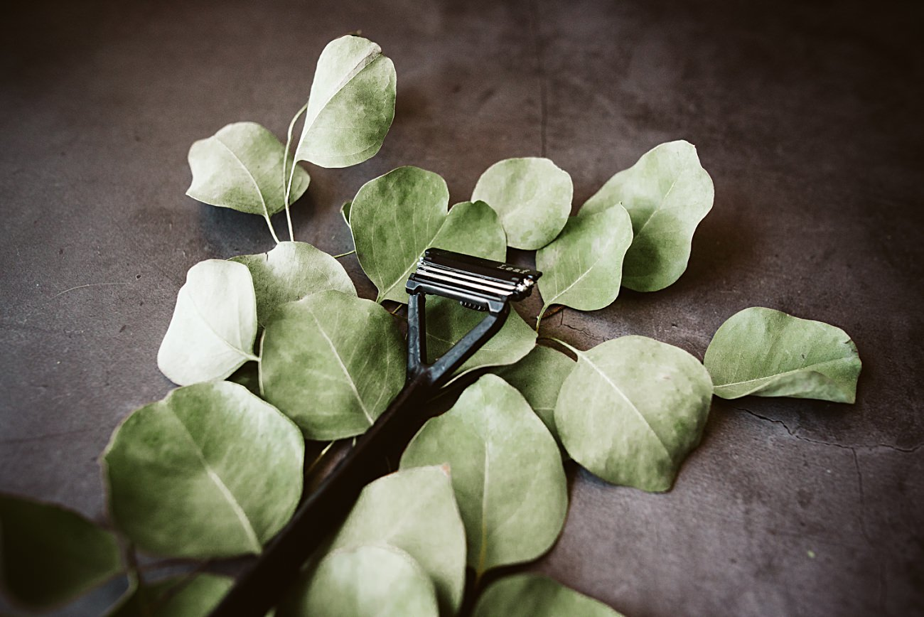 metal razor zero waste, leaf shave razor review, product photography, madison wi commercial photographer, product styling, natural intuition photography, our madison life