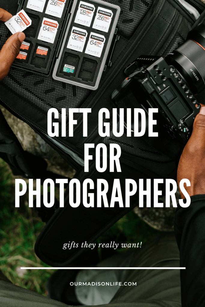 Gift Guide for Photographers, Gifts Photographers Want