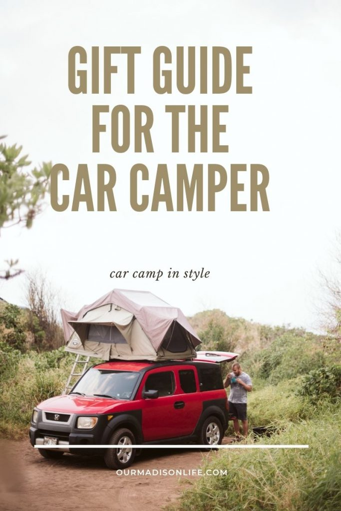 Gift guide for car camping